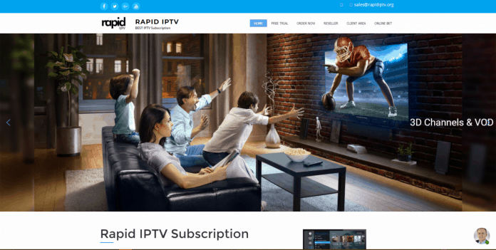 Rapid IPTV feature