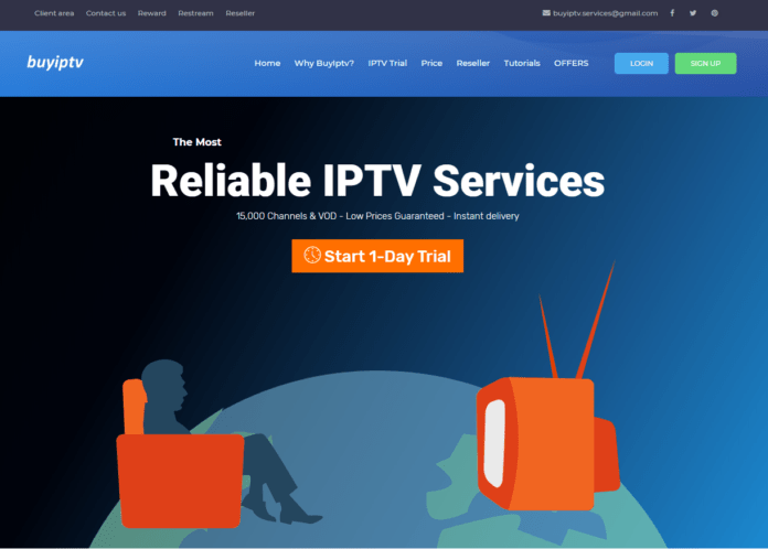 buy iptv service background