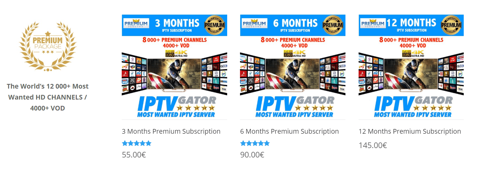 nnn Iptv Gator - The Best Worldwide IPTV provider