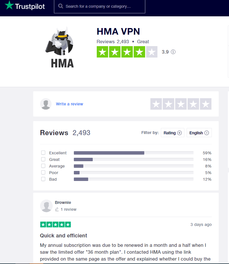 hma Online Privacy with Hidemyass VPN IPTV