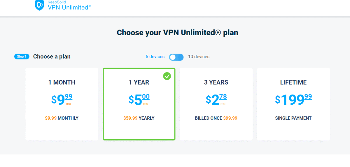 vpn-price Security with KeepSolid
