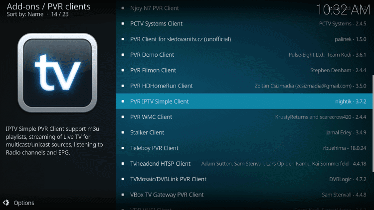 k-1 How To Stream IPTV on Kodi with PVR IPTV Simple Client