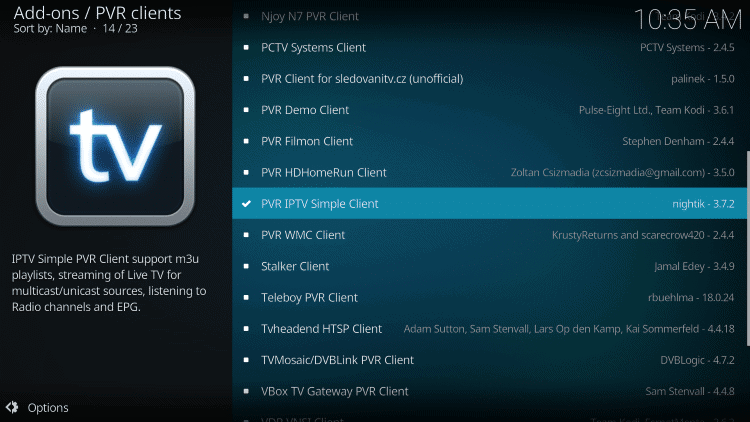 n How To Stream IPTV on Kodi with PVR IPTV Simple Client
